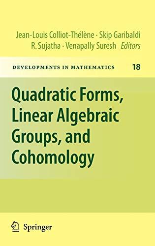 9781441962102: Quadratic Forms, Linear Algebraic Groups, and ...