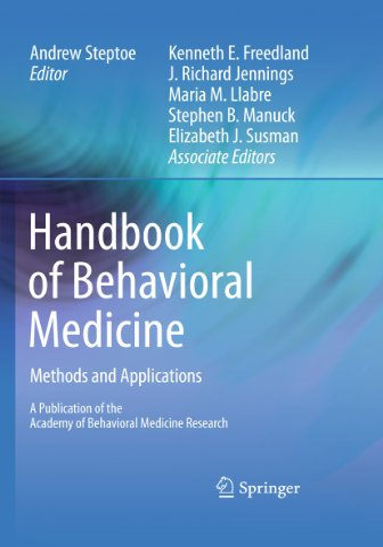 9781441964830: Handbook of Behavioral Medicine: Methods and Applications