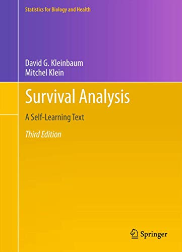 9781441966452: Survival Analysis: A Self-Learning Text, Third Edition (Statistics for Biology and Health)