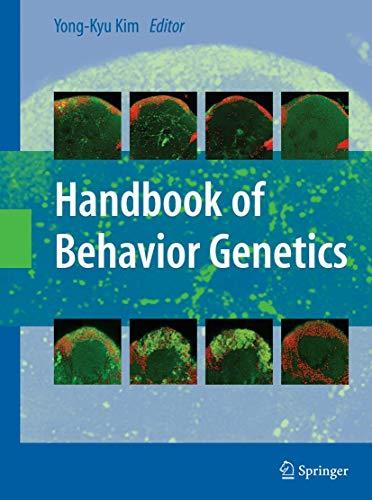Handbook of Behavior Genetics (Paperback)