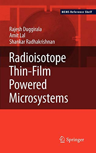 9781441967626: Radioisotope Thin-Film Powered Microsystems (MEMS Reference Shelf)