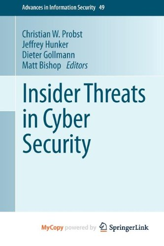 9781441971340: Insider Threats in Cyber Security