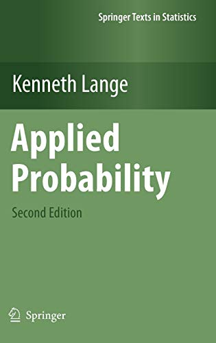 9781441971647: Applied Probability (Springer Texts in Statistics)