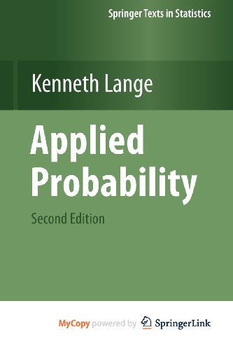 9781441971661: Applied Probability