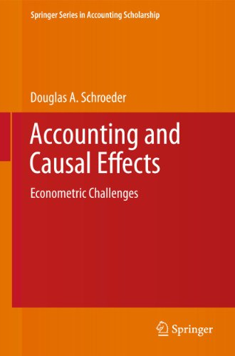 Accounting and Causal Effects: Douglas A. Schroeder