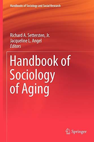 Handbook of Sociology of Aging (Hardback)