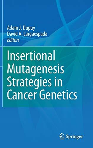 9781441976550: Insertional Mutagenesis Strategies in Cancer Genetics
