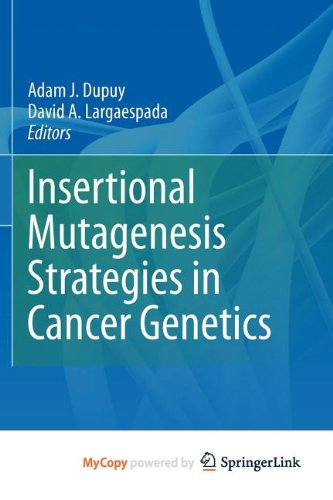 9781441976574: Insertional Mutagenesis Strategies in Cancer Genetics