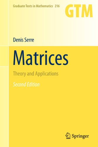 9781441976826: Matrices: Theory and Applications (Graduate Texts in Mathematics)