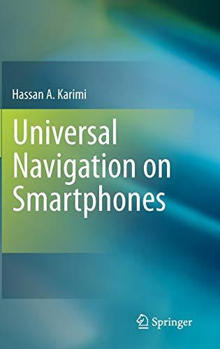 9781441977403: Universal Navigation on Smartphones
