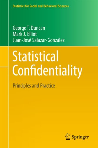 9781441978011: Statistical Confidentiality: Principles and Practice (Statistics for Social and Behavioral Sciences)