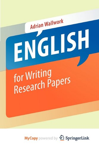 9781441979230: English for Writing Research Papers