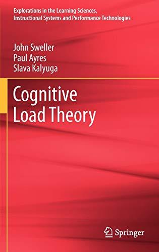 Cognitive Load Theory (Hardback): John Sweller, Paul