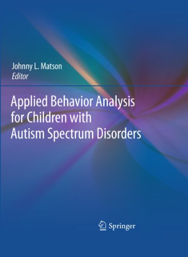 9781441981325: Applied Behavior Analysis for Children with Autism Spectrum Disorders