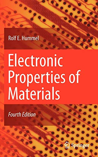 9781441981639: Electronic Properties of Materials