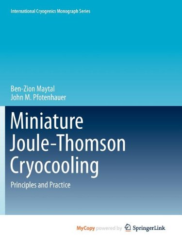 9781441982865: Miniature Joule-Thomson Cryocooling: Principles and Practice