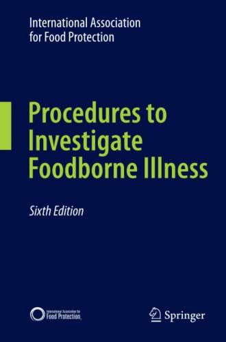 Procedures to Investigate Foodborne Illness: IAFP