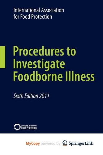 9781441983978: Procedures to Investigate Foodborne Illness