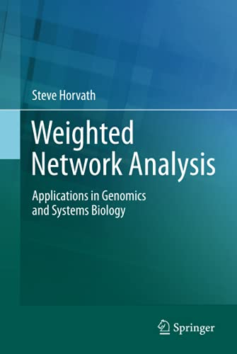 9781441988188: Weighted Network Analysis: Applications in Genomics and Systems Biology