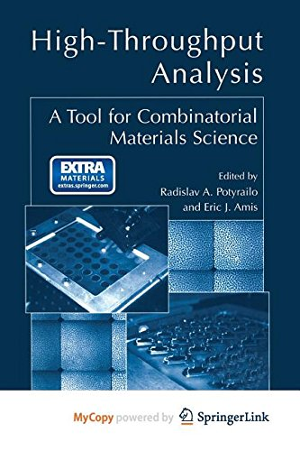 9781441989901: High-Throughput Analysis: A Tool for Combinatorial Materials Science