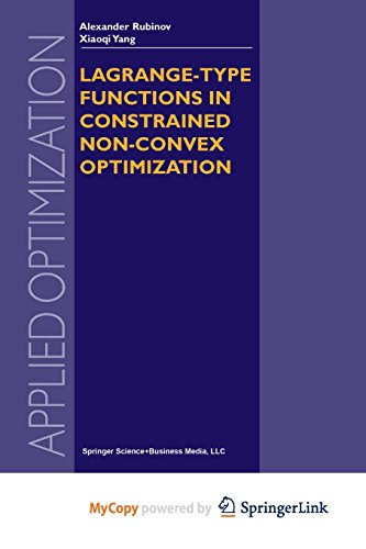 9781441991737: Lagrange-type Functions in Constrained Non-Convex Optimization