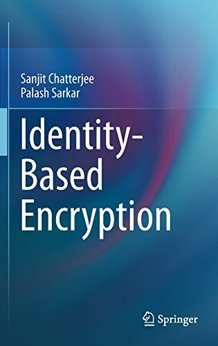 9781441993823: Identity-Based Encryption