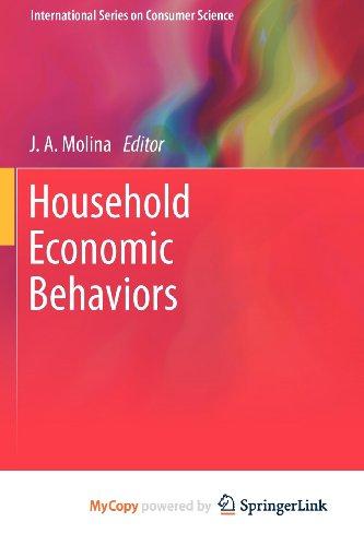9781441994325: Household Economic Behaviors