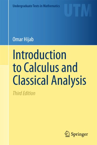 9781441994875: Introduction to Calculus and Classical Analysis (Undergraduate Texts in Mathematics)
