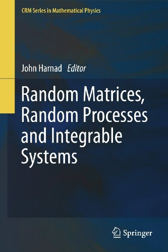 Random Matrices, Random Processes and Integrable Systems
