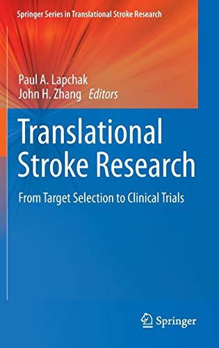 Translational Stroke Research (Hardback)