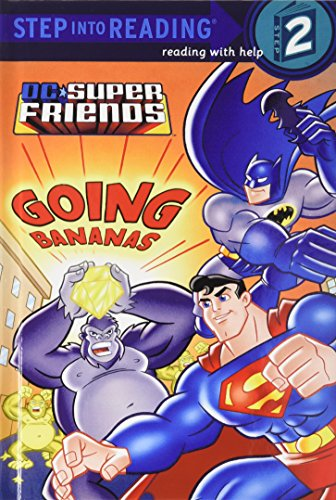9781442001916: Super Friends: Going Bananas (Step Into Reading. Step 2)