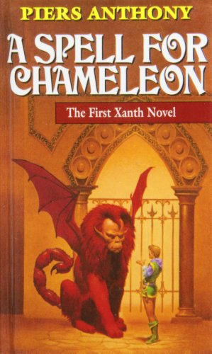 9781442005358: A Spell for Chameleon (Magic of Xanth)
