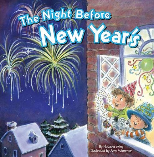 9781442073432: By Natasha Wing The Night Before New Year's [Paperback]