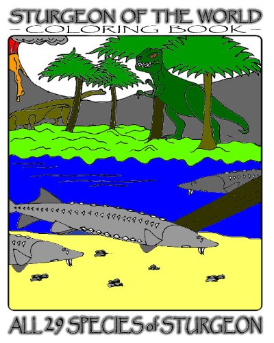 Sturgeon Of The World: Coloring Book: Fich, G. R.
