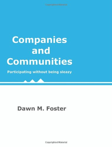 9781442142732: Companies and Communities: Participating without being sleazy