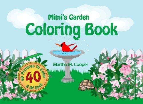 9781442147522: Mimi's Garden: Coloring Book