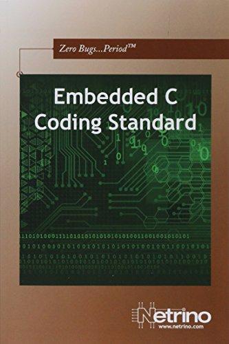 9781442164826: Embedded C Coding Standard