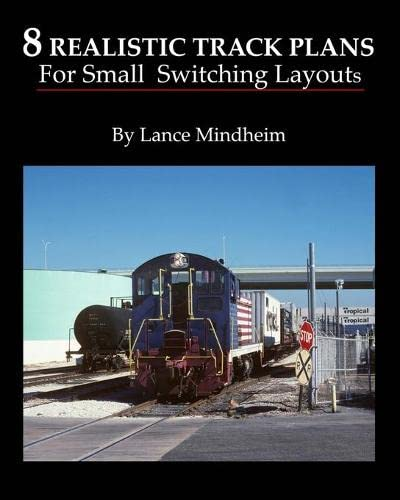 9781442176492: 8 Realistic Track Plans For Small Switching Layouts
