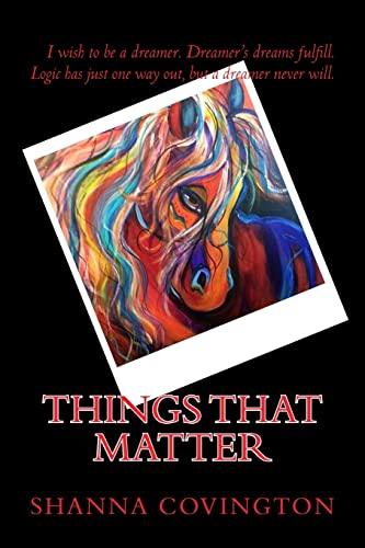 9781442185852: Things That Matter