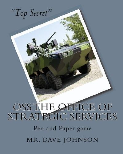 9781442189232: OSS The Office of Strategic Services: Pen and Paper game