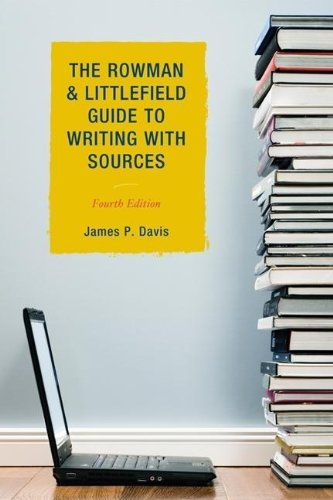9781442205703: The Rowman & Littlefield Guide to Writing with Sources