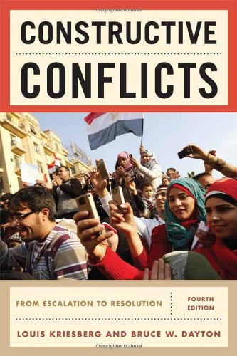 9781442206830: Constructive Conflicts: From Escalation to Resolution