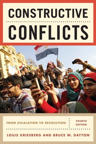 9781442206847: Constructive Conflicts: From Escalation to Resolution
