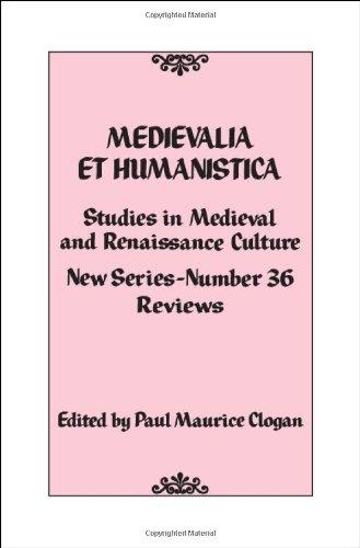 9781442208124: Medievalia et Humanistica, No. 36: Studies in Medieval and Renaissance Culture (Medievalia et Humanistica Series)