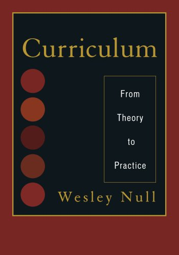 Curriculum: From Theory to Practice: Wesley Null