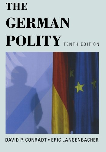9781442216457: The German Polity, Tenth Edition