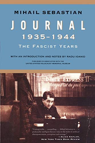 9781442220249: Journal 1935–1944: The Fascist Years (Published in association with the United States Holocaust Memorial Museum)
