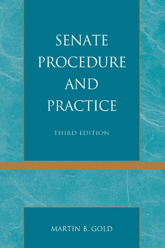 9781442224179: Senate Procedure and Practice
