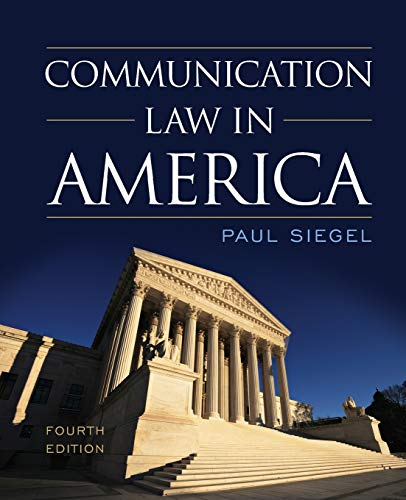 9781442226227: Communication Law in America