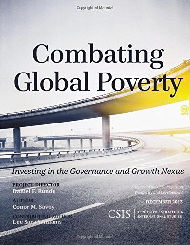 9781442228030: Combating Global Poverty: Investing in the Governance and Growth Nexus (CSIS Reports)